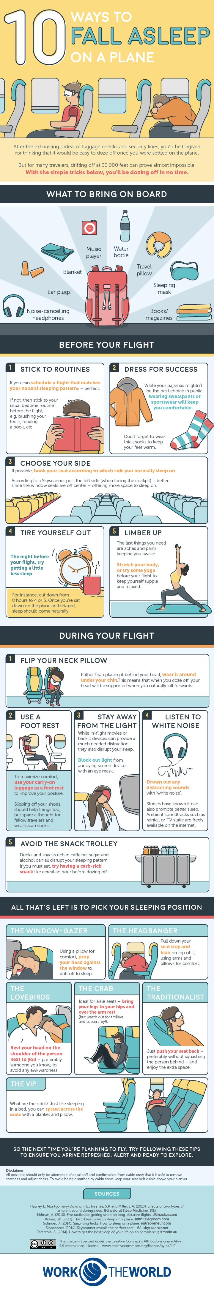 Sleep On A Plane