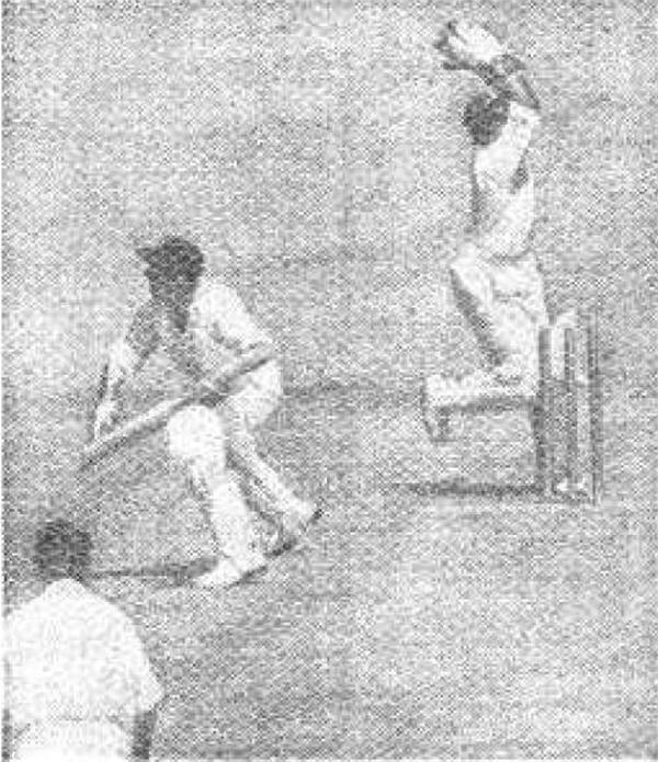 Indian wicketkeeper stumps out England batsman Tom Graveney
