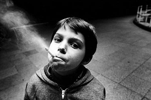 WHO Children Smoking