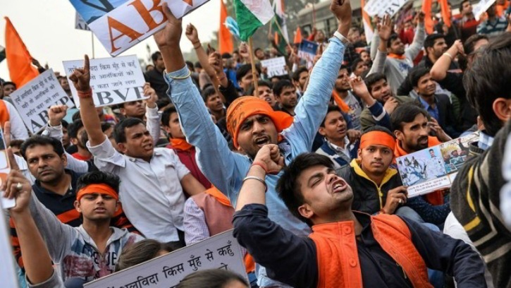 Three JNU ABVP Leaders Resign Over Crackdown At The University