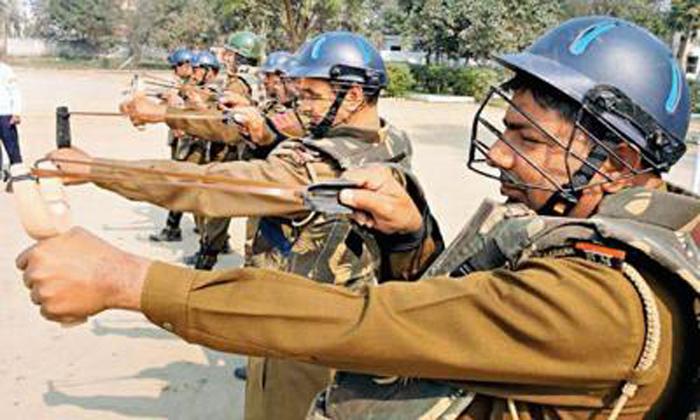 Haryana cops junk guns for