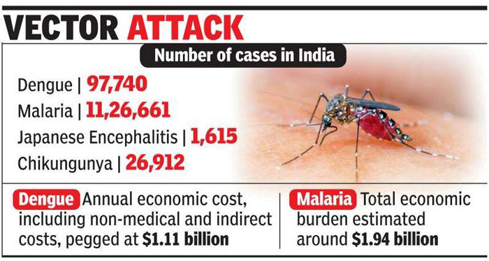 India Spends Over 17640 Crore On Dengue And Malaria Every Year