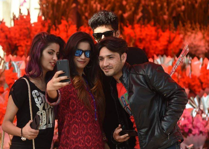 To post or not to post: Defiant Pakistani teens