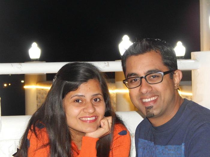 Akhilee and Gaurav