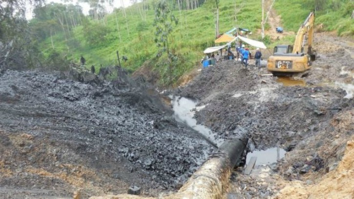 Peru Declarers State Of Emergency After Oil Spill In Amazon Rainforest