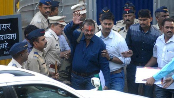 sanjay dutt-jail release