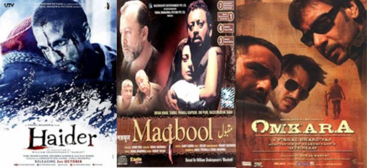 Haider, Omkara and Maqbool