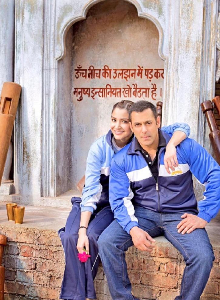 Anushka Sharma and Salman Khan