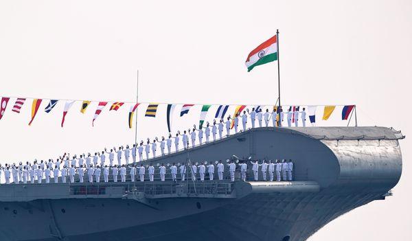 International Fleet Review 2016 flag