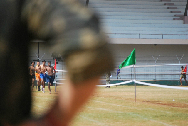 army recruitment test