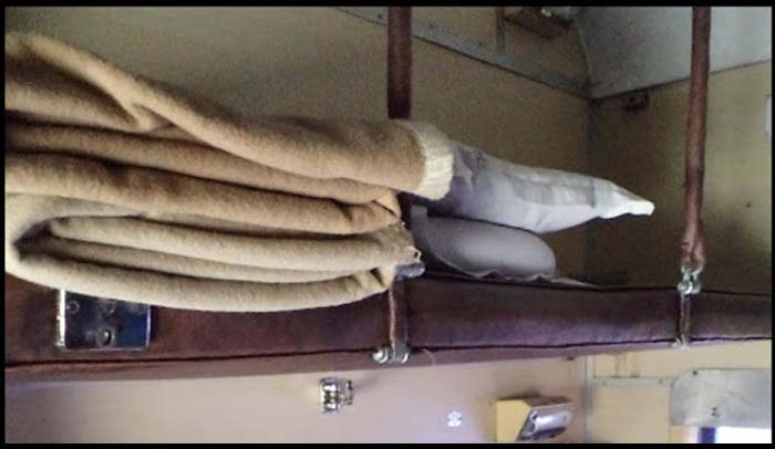 You Smelt It Right, Railways Washes Blankets Every Two Months