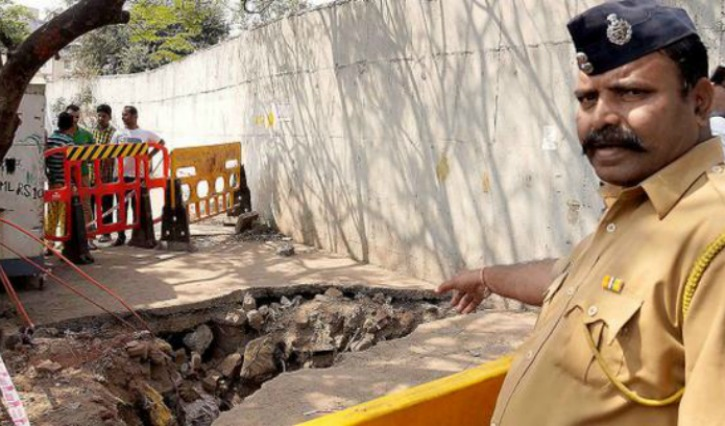 Thane Braveheart Risked His Life Trying To Save A Woman Fallen In A Ditch