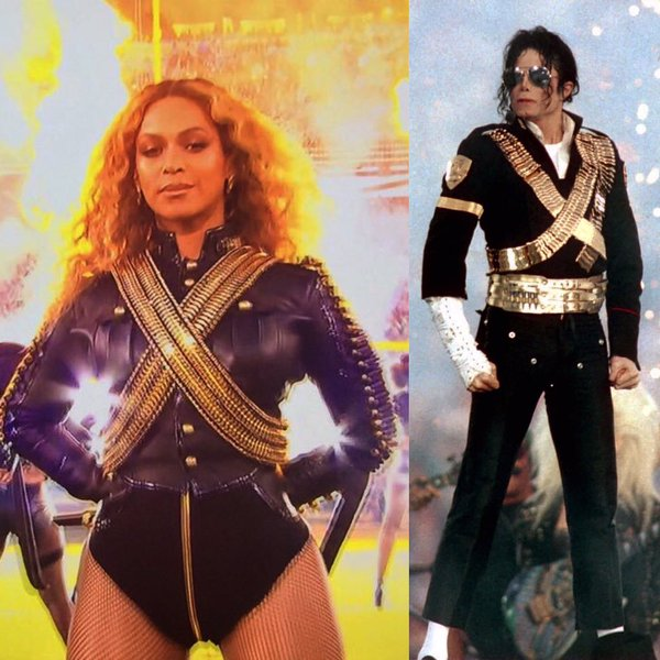Queen Bey and King MJ
