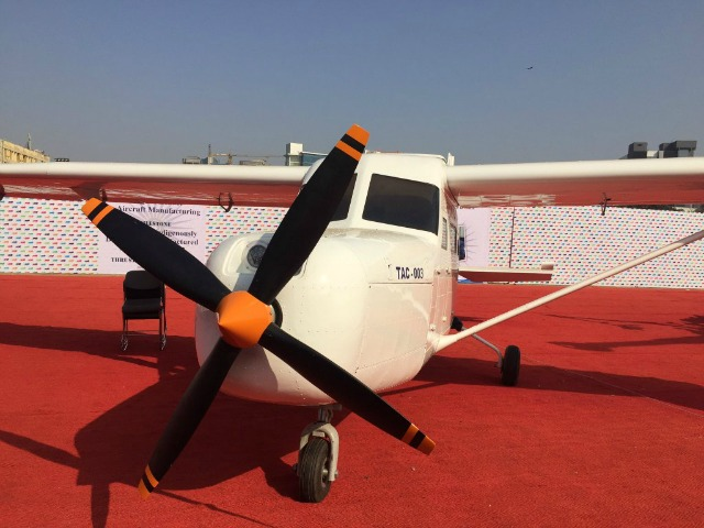 This Helicopter Displayed At Make In India Week Was Assembled On Rooftop By A Pilot