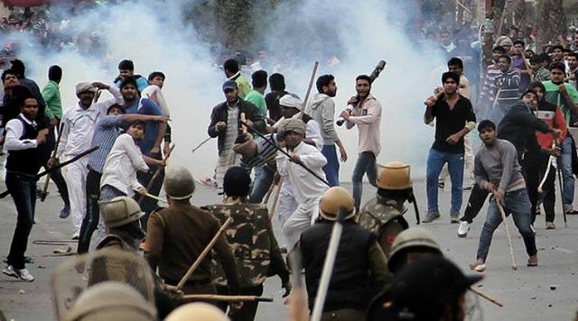 Jat Reservation Protest