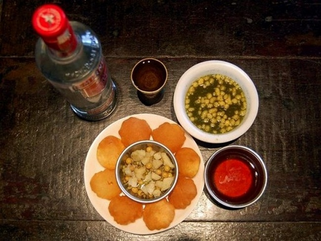 vodka panipuri