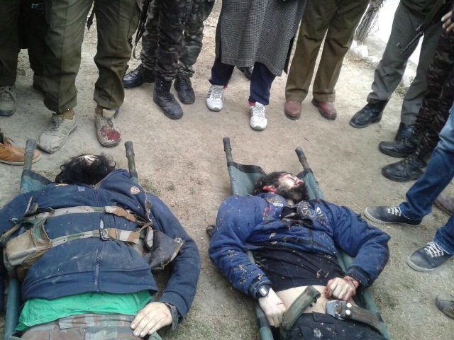 Militants dead kashmir