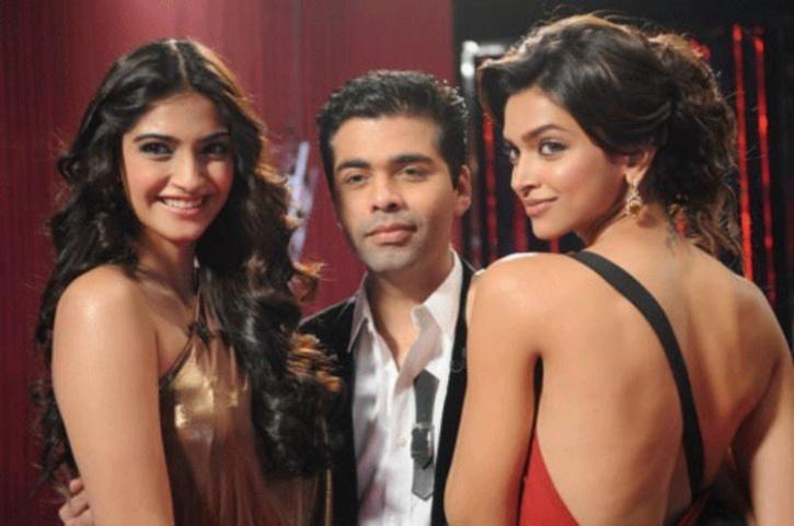 Deepika and Sonam Kapoor