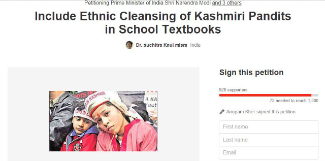 Kashmiri Pandit Ethnic Cleansing In Indian History Books