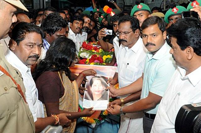 G Ganesan funeral Jayalalitha