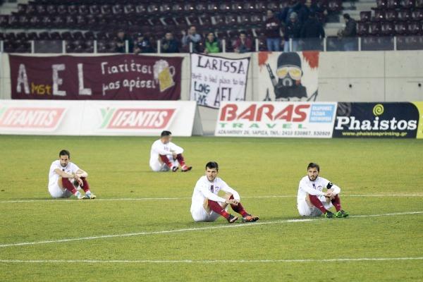 AEL Larissa players