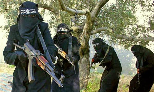 ISIS militant women