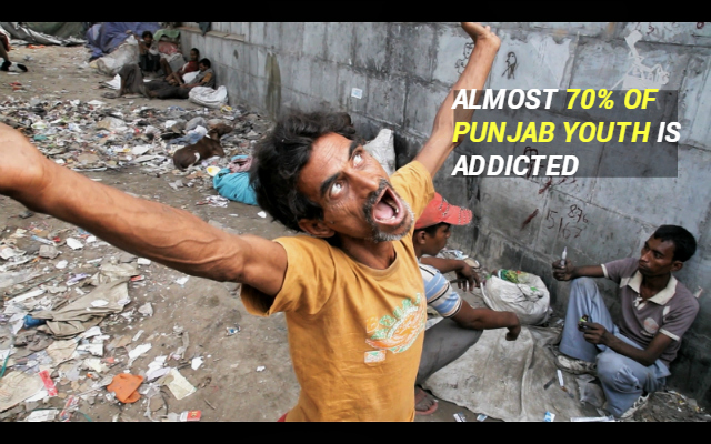 punjab addiction to drugs