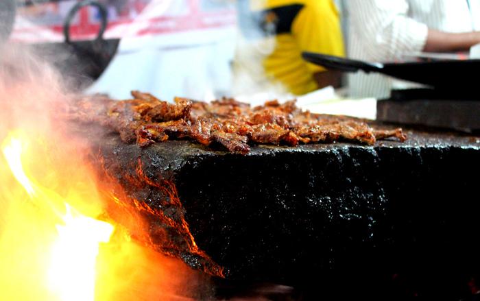 Shikampur Kebab or Patthar ke Kebab