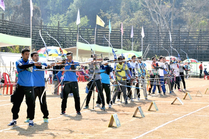 Indian Archers Reign Supreme As We Near The 100 Medals Mark At South Asian Games With 53 Gold