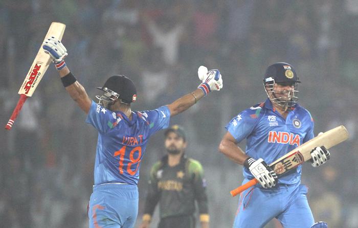 India beat Pakistan in 2014 T20 WC