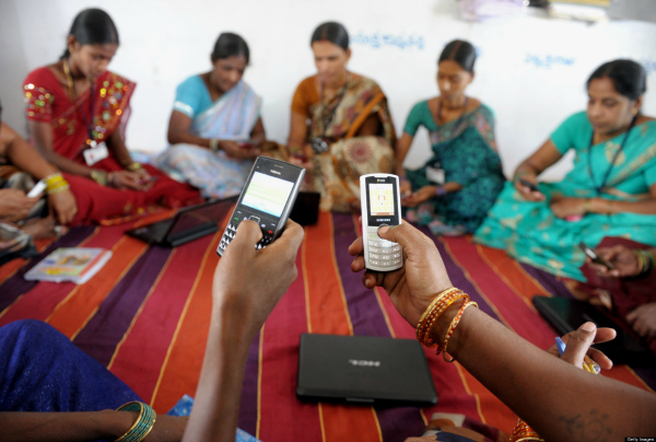india cellphone women