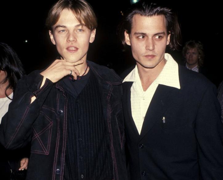 Leonardo and DiCaprio