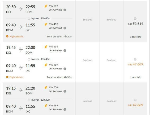 As #JatReservation Protests Peak, Airlines Begin Robberies. Delhi-Chandigarh Trip Costs 55,000!