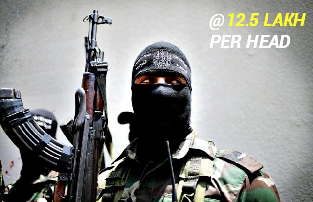 J & K militant