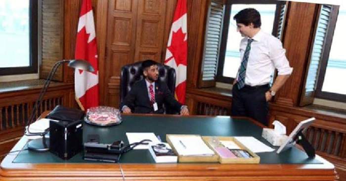 Punjabi Teen Was Canada's PM For A Day