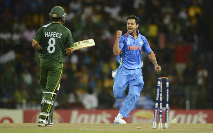 Kohli celebrates