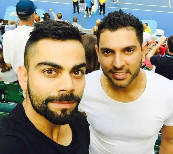 Kohli and Yuvraj
