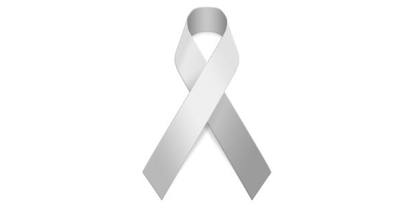 lungs cancer ribbon