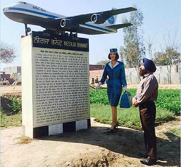 memorial neerja bhanot