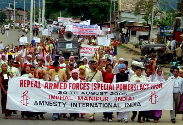 Manipur protest