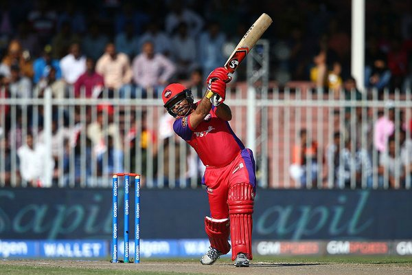 Sehwag hits a six