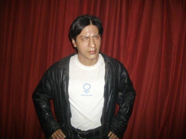 SRK wax statue