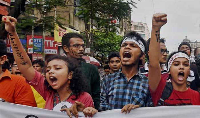jadavpur-university-protest