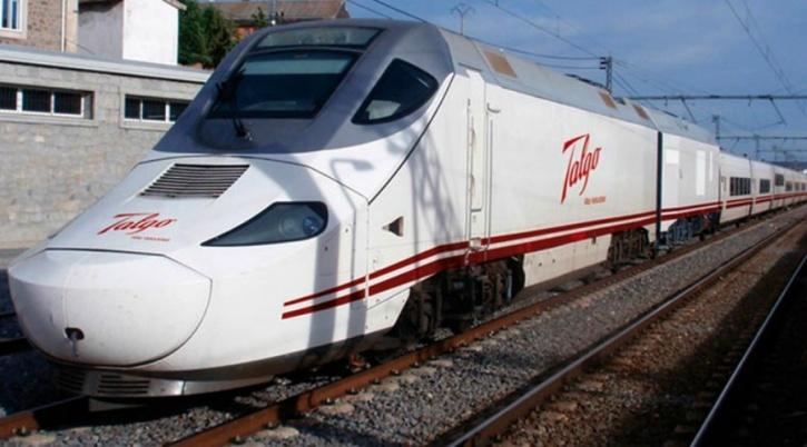 Trial Run Of High Speed Talgo Train