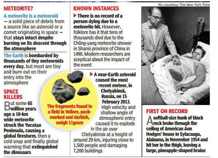 A Meteorite May Have Killed A Man...In Tamil Nadu