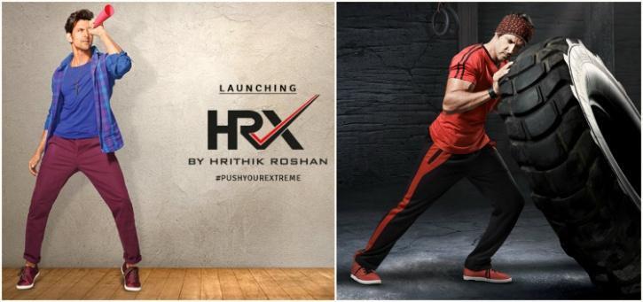 hrithik clothing line