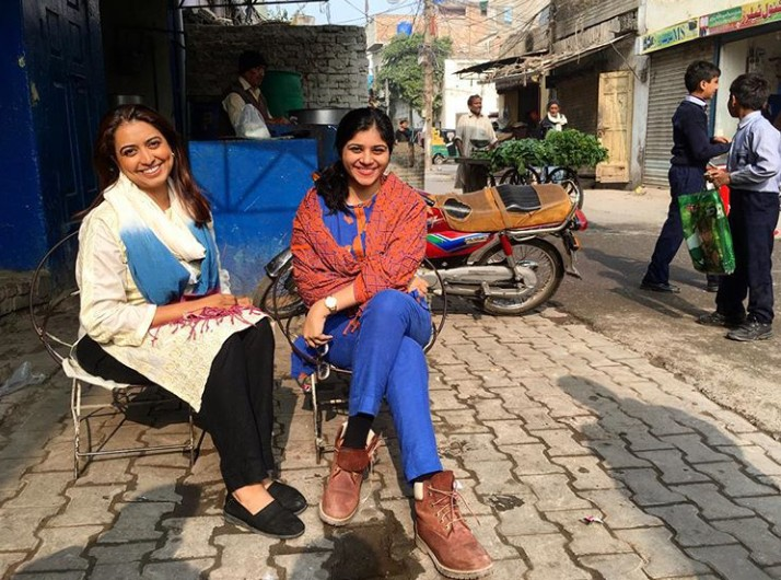 Indo-Pak Women Unite To Fight For Their Right To Hangout In Public Places Without Being Judged