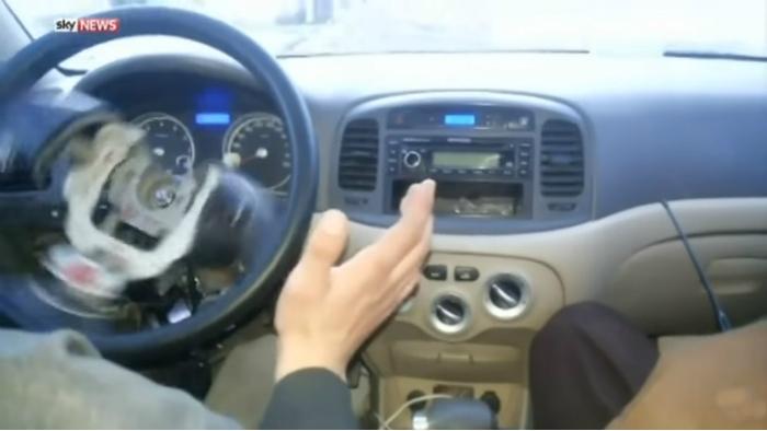ISIS Driverless car