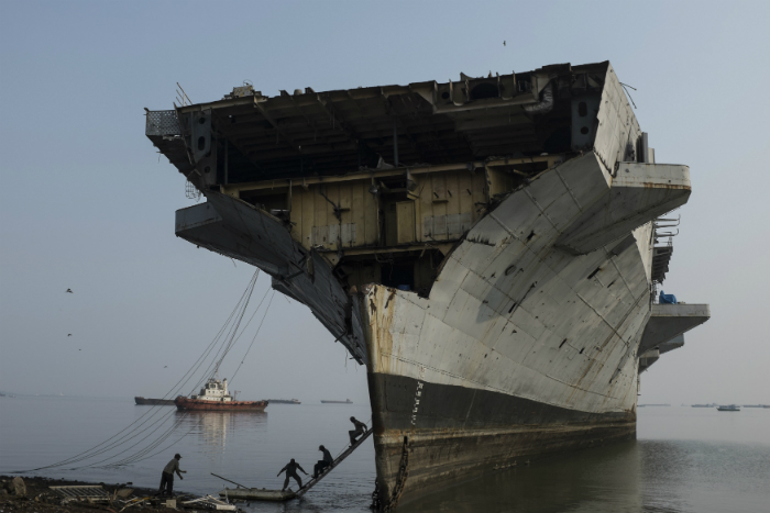 INS Vikrant scrapped