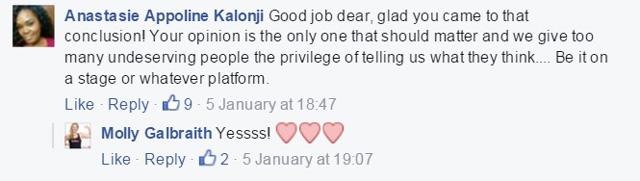 Molly Galbraith Facebook